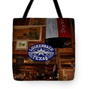 The General Store In Luckenbach Tx Tote Bag