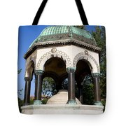 The German Fountain In Istanbul Tote Bag