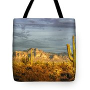 The Golden Glow II Tote Bag