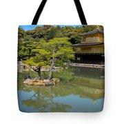 The Golden Pavilion Tote Bag