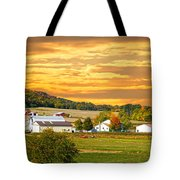 The Golden Ranch Tote Bag