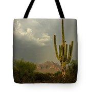 The Golden Saguaro  Tote Bag