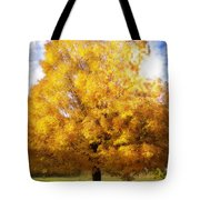 The Golden Tree Tote Bag