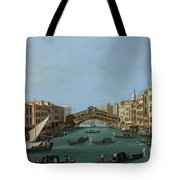 The Grand Canal Tote Bag by Antonio Canaletto