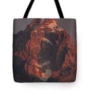 The Grand Teton At Sunrise Tote Bag