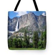 The Grandeur Of Yosemite Falls Tote Bag