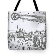 The Great Comet Of 1556 Tote Bag