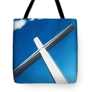 The Great Cross - Resurrection Tote Bag