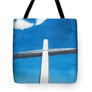 The Great Cross - Risen Tote Bag