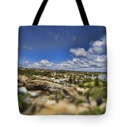 The Great Divide Tote Bag