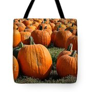 The Great Pumpkin Patch Tote Bag