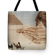 The Great Sphinx And The Second, Or Tote Bag
