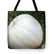 The Great White Pumpkin Tote Bag