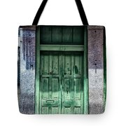 The Green Door In The French Quarter Tote Bag
