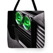 The Green Hornet - Black Beauty Close Up Tote Bag