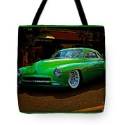 The Green Machine Tote Bag