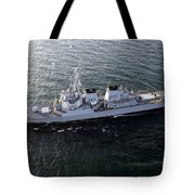 The Guided-missile Destroyer Uss Laboon Tote Bag