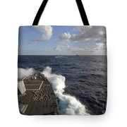 The Guided-missile Destroyer Uss Nitze Tote Bag