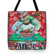 The Happy Chef Tote Bag
