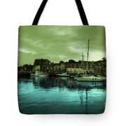 The Harbour At Padstow Tote Bag