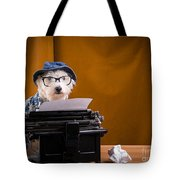 The Hard Boiled Journalist Tote Bag