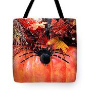 The Harvest Spider Tote Bag