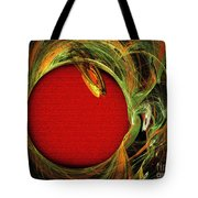 The Heart Of A Snake Tote Bag