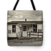The Heart Of Glady Sepia Tote Bag