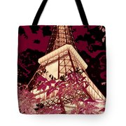 The Heart Of Paris - Digital Painting Tote Bag
