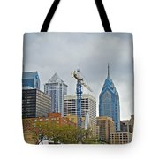 The Heart Of The City - Philadelphia Pennsylvania Tote Bag by Mother Nature