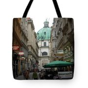 The Heart Of Vienna Tote Bag