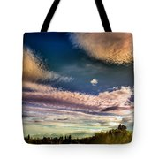 The Heavy Clouds Tote Bag