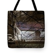 The Hideout Tote Bag by Ron Jones