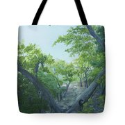 The Hiking Trail Tote Bag