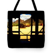 The Hills In Old Tuscon Az Tote Bag