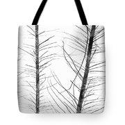 The Hirsute Trees Tote Bag