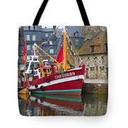 The Historic Fishing Village Of Honfleur Tote Bag