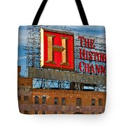 The History Channel Tote Bag