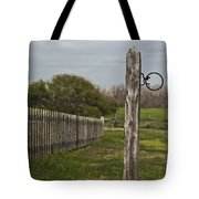 The Hitching Post Tote Bag