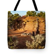 The Hogan Near Spider Rock Tote Bag