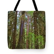 The Hoh Rain Forest Tote Bag