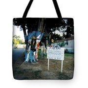 The Holy Bible Say In Galatians Tote Bag