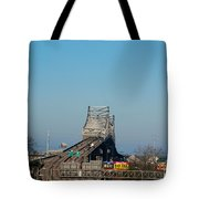 The Horace Wilkinson Bridge Over The Mississippi River In Baton Rouge La Tote Bag