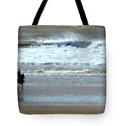 The Horse And The Sea Tote Bag