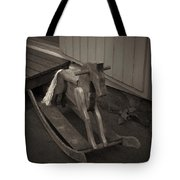 The Horse On The Alley Of Pikku Pietari In Kuopio Tote Bag
