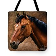 The Horse Portrait Tote Bag