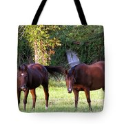 The Horses Tote Bag