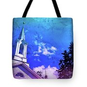 The House Of Men Under The House Of God Tote Bag