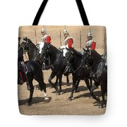 The Household Cavalry Performs Tote Bag