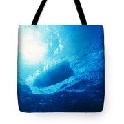 The Hull Of A Speed Boat Dingy Races Tote Bag